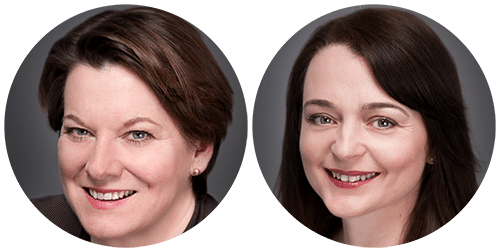 Marketing Consultants Emma Tarring & Anneve Hutchinson